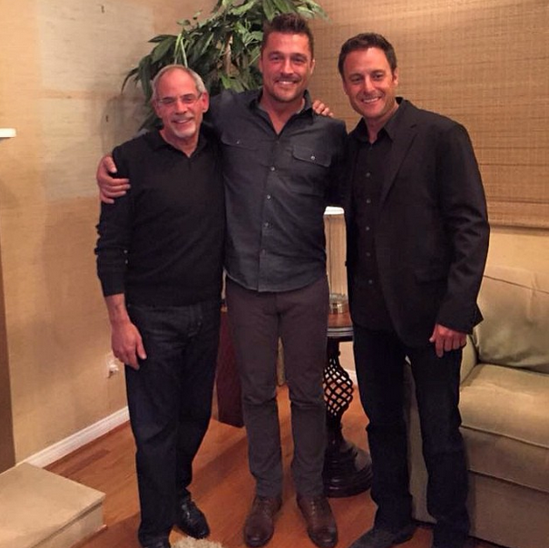 The Bachelor Chris Soules with Michael Rozbruch
