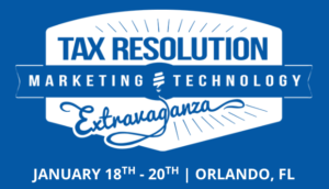 tax-resolution-marketing-technology-conference