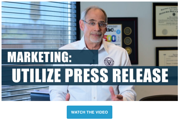 Michael Rozbruch Marketing Tip Using Press Releases