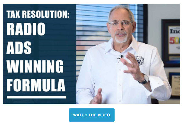 Michael Rozbruch: Tax Resolution Marketing - Radio Ads Winning Formula Video