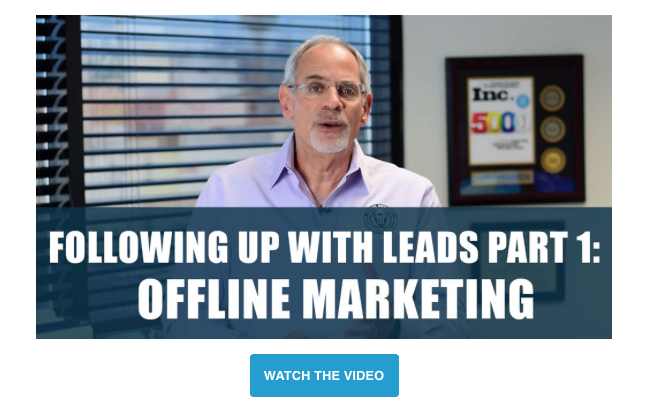 Following Up with Your Offline Leads for Tax Professionals