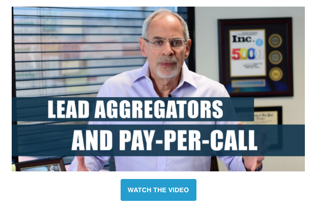 Michael Rozbruch's video on why you shouldn't buy leads from lead aggregators.